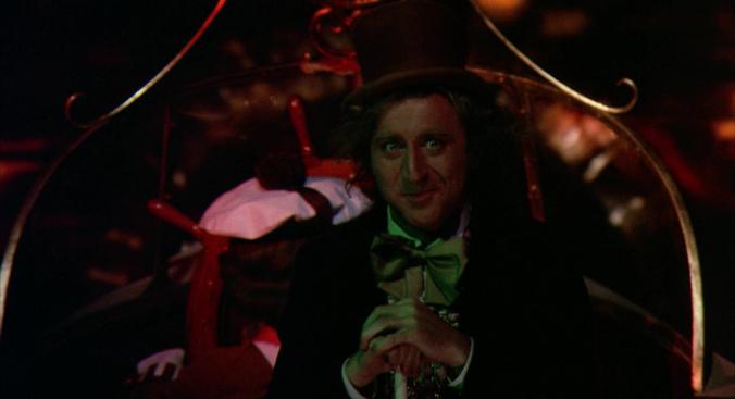 Willy Wonka Tunnel Scene