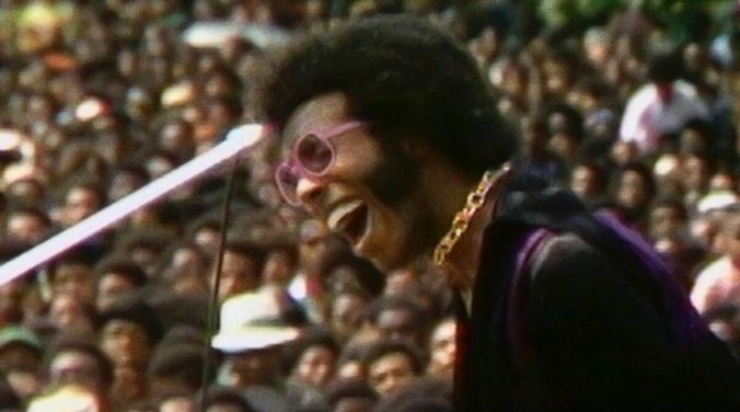 Sly Stone, performing at the Harlem Cultural Festival